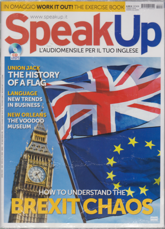 Speak Up - Cd Esercizi - n. 408 - marzo 2019 - mensile