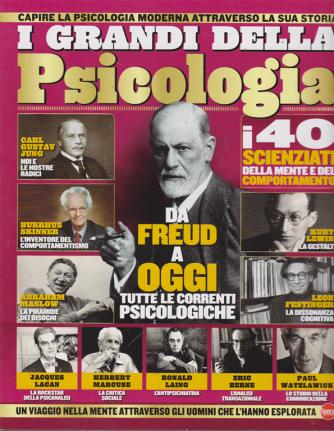Conoscere La Storia Mega -  I grandi della Psicologia - n. 8 - bimestrale - agosto - settembre 2019 .