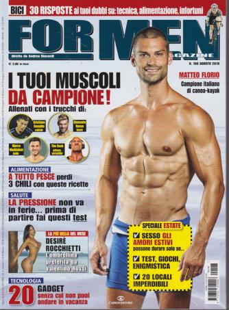 For Men Magazine - n. 198 - agosto 2019 - mensile