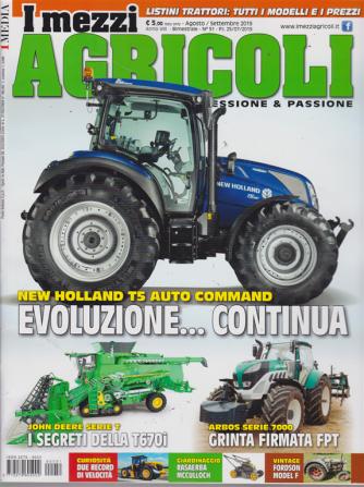 I Mezzi Agricoli - N. 51 - agosto - settembre 2019 - bimestrale