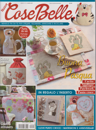 Nuove Cose Belle - n. 3 - marzo 2019 - mensile