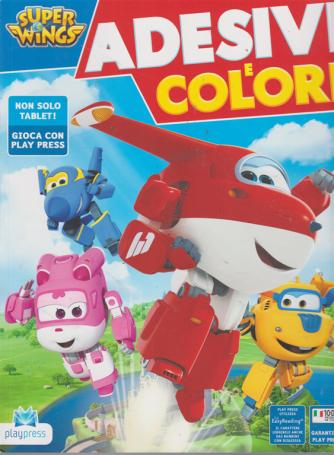 Super Wings Adesivi - E Colori - n. 16 - agosto - settembre 2019 - bimestrale