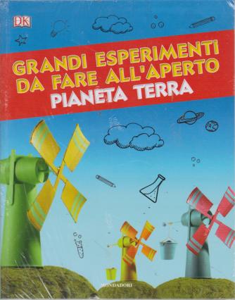 Le Grandi Collezioni - Pianeta Terra-3Voume - Grandi esperimenti da fare all'aperto  - n. 37 - settimanale - 6/8/2019