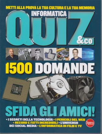 Informatica quiz & Co. n. 1 - bimestrale - agosto - settembre 2019 -