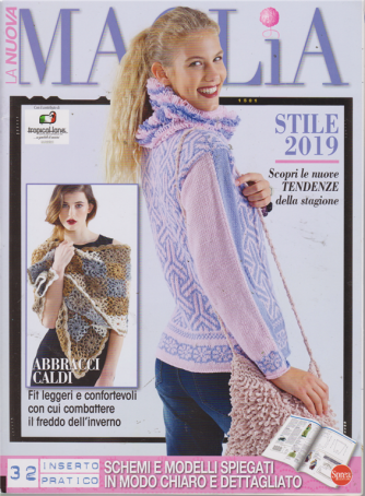La Nuova Maglia Extra - n. 5 - bimestrale - agosto - settembre 2019 - stile 2019