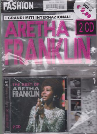 Music Fashion - I grandi miti internazionali - The best of Aretha Franklin - rivista + 2 cd