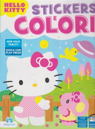 Stickers E Colori - Hello Kitty - n. 14 - agosto - settembre 2019 - bimestrale