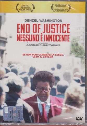 I Dvd Fiction Sorrisi 2 - n. 38 - 6/8/2019 - settimanale - End of justice nessuno è innocente -