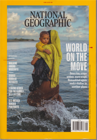 National Geographic Usa - n. 8 - 2019 - in lingua inglese