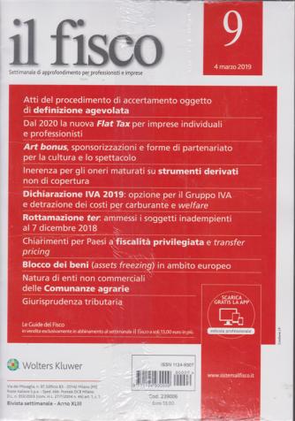 Il Fisco - n. 9 - 4 marzo 2019 - settimanale
