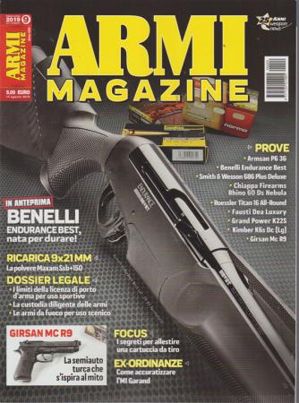 Armi Magazine - n. 9 - mensile - settembre 2019
