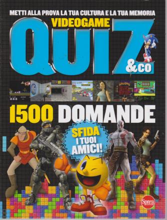 Quiz & Co. Videogiochi - n. 1 - bimestrale - agosto - settembre 2019 - 1500 domande