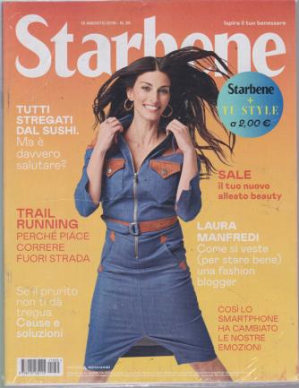 Starbene + Tu Style - n. 35 - 13 agosto 2019 - settimanale - 2 riviste