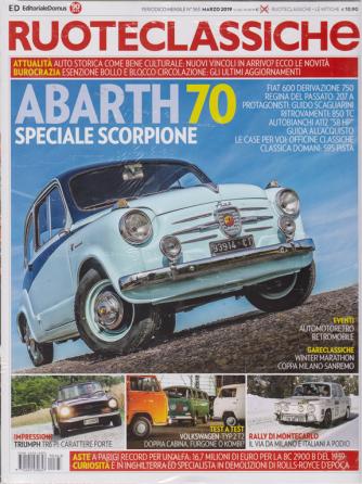 Ruoteclassiche Split + Le mitiche - sportive - n. 363 - marzo 2019 - mensile - 2 riviste