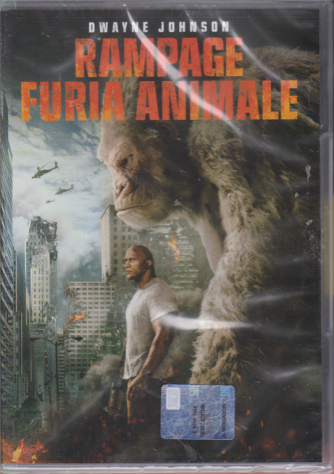 I Dvd Fiction Sorrisi.2 - Rampage furia animale - n. 39 - settimanale - 20/8/2019