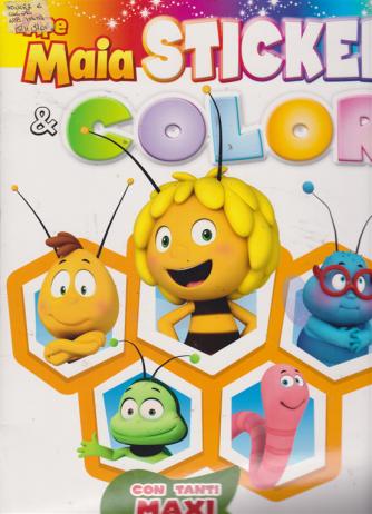 Sticker & Color - L'ape Maia - bimestrale - dicembre 2018