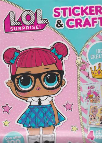 Giocasticker - Lol surprise!  - Sticker & craft - n. 3 - bimestrale -
