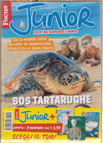 Focus Junior + i quaderno a righe di quinta elementare - n. 188/2019 - rivista + quaderno