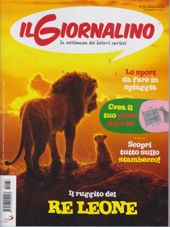 Il Giornalino - n. 33 - 25 agosto 2019 - settimanale