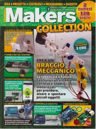 Makers Collection - n. 2 - bimestrale - agosto - settembre 2019 - 2 numeri 128 pagine
