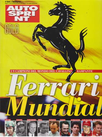 Autosprint Gold collection - n. 7 - Ferrari Mundial -