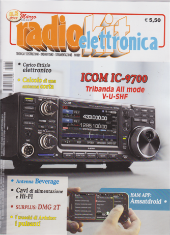Radiokit Elettronica - n. 3 - marzo 2019 - mensile