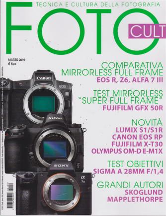 Foto cult - n. 159 - marzo 2019 - mensile