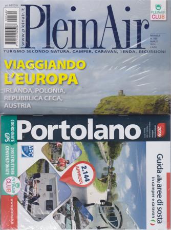 Plein Air - N. 560 - Mensile - marzo 2019 +    Portolano 2019.Guida alle aree di sosta in camper e caravan - + PA Market - 2 riviste + guida