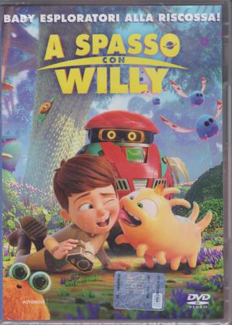 I Dvd Di Sorrisi Collaction2 - A Spasso Con Willy - Baby esploratori alla riscossa! - n. 13 - 28/8/2019 - settembre 2019