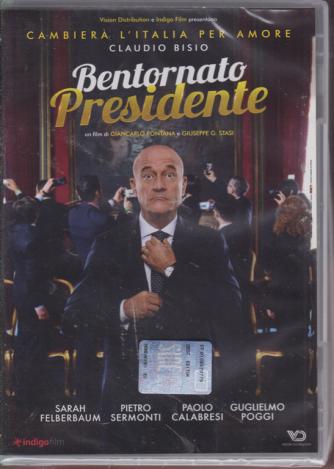 I dvd Cinema di Sorrisi n. 23 - settimanale  - Bentornato Presidente - 28/8/2019