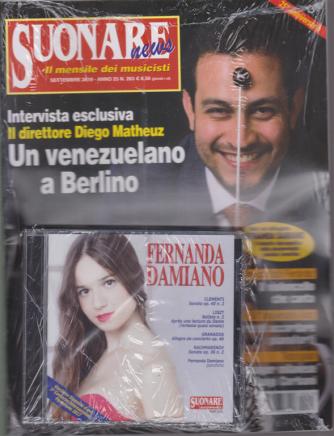 Suonare News - + CD di Fernanada Damiano - n. 263 - settembre 2019 - mensile