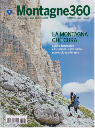 Montagne 360 - n. 84 - settembre 2019 - mensile