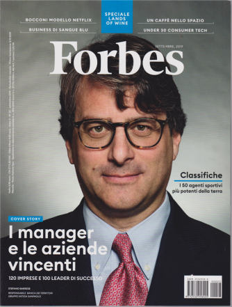 Forbes - n. 23 - settembre 2019 - mensile