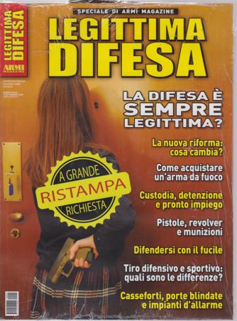 Speciale di armi magazine - Legittima difesa - bimestrale - 5 settembre 2019