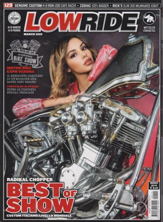 Low Ride - n. 129 - marzo 2019 - mensile