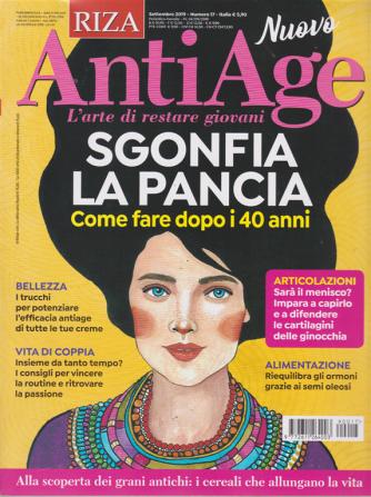 Riza Antiage - n. 17 - settembre 2019 - mensile