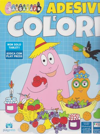 Barbapapa' Adesivi e colori - n. 9 - settembre - ottobre 2019 - bimestrale