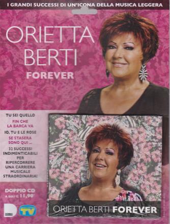 Cd Sorrisi  e canzoni n. 10 - Orietta Berti forever - settimanale - doppio cd - 1/3/2019