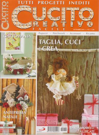 Cucito Creativo  facile - n. 132 - settembre 2019 - mensile