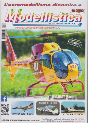 Modellistica International - Aeromodellismo dinamico - n. 9 - settembre 2019 - mensile