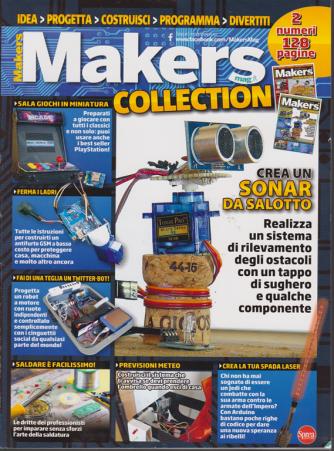 Makers collection -  - bimestrale - n. 1 - febbraio - marzo 2019 - 2 numeri - 128 pagine