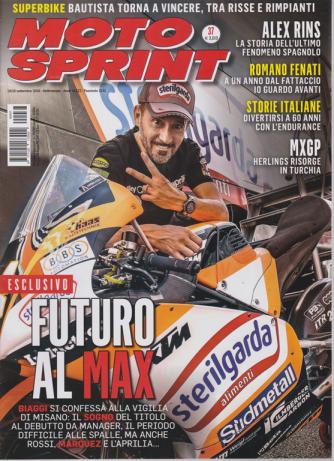 Motosprint - n. 37 - 10/16 settembre 2019 - settimanale