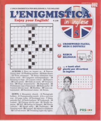 Abbonamento L'Enigmistica in inglese (cartaceo trimestrale)