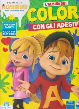 Alvinnn! And the chipmunks l'album dei colori - n. 2 - settembre - ottobre 2019 - bimestrale