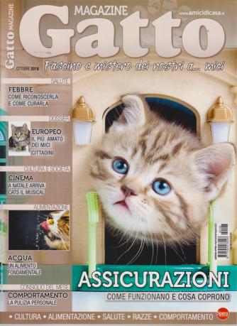 Gatto magazine - n. 128 - ottobre 2019 - mensile
