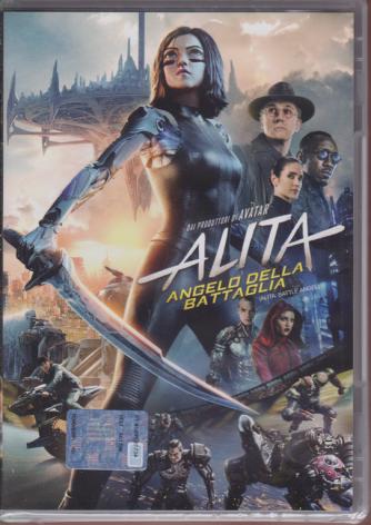 I Dvd Cinema Di Sorrisi - n. 25 - Alita angelo della battaglia - settimanale - 12 settembre 2019 -