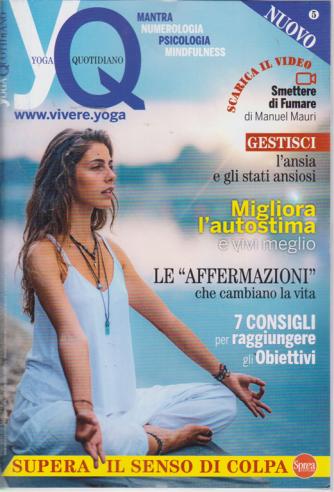 Yoga Quotidiano - n. 5 - bimestrale - settembre - ottobre 2019 -