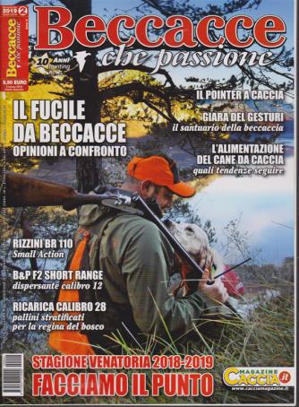 Beccacce che passione - n. 2 - marzo - aprile 2019 - bimestrale -