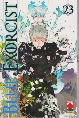 Manga Graphic Novel - Blue Exorcist 23 - n. 116 - bimestrale - 12 settembre 209 -