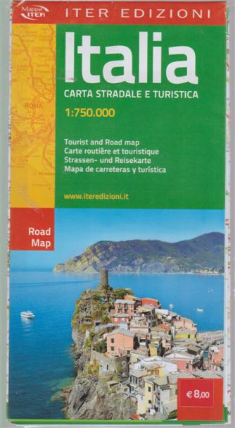 Mappa Italia - Carta stradale e turistica - 1:750.000